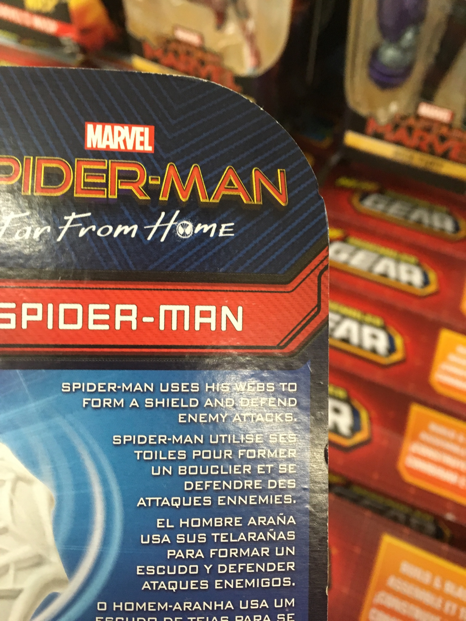 New Spider-Man: Far From Home Toy May've Just Spoiled A Huge Plot