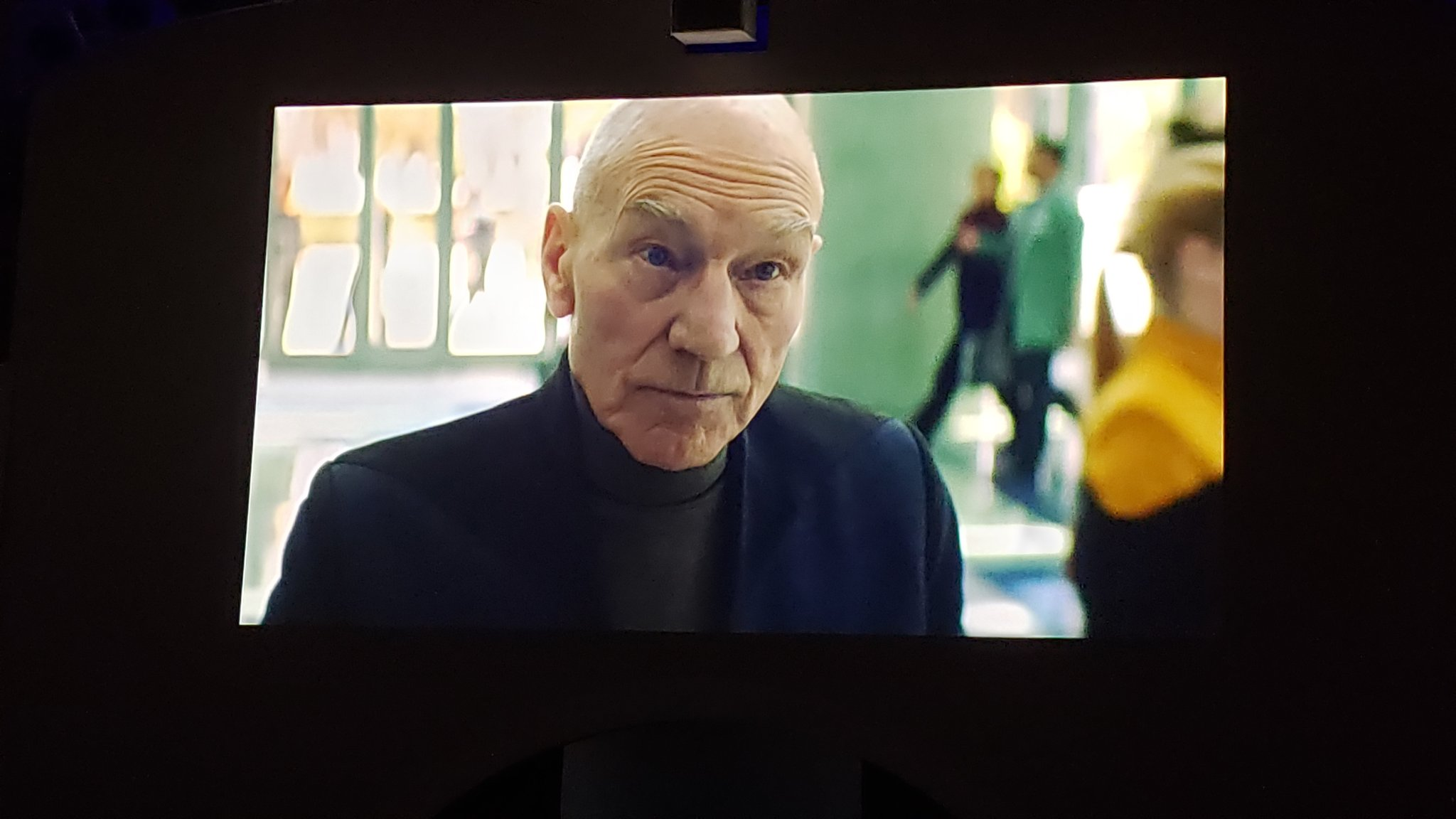 First Look at Patrick Stewart in STAR TREK: PICARD, Series Logo Revealed