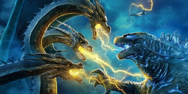 Godzilla-fights-Ghidorah-on-Godzilla-2-Chinese-Poster