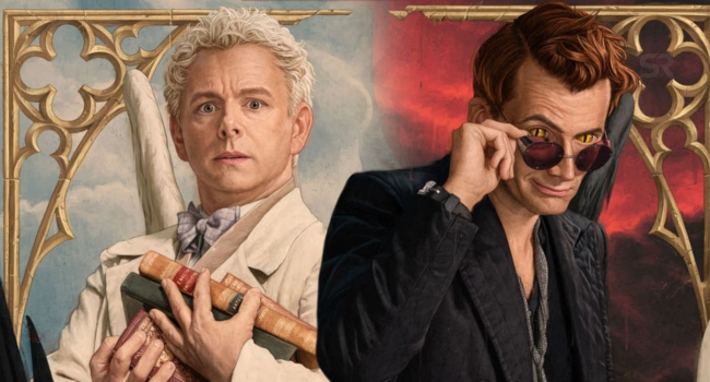 Amazon Announces Good Omens Blu-Ray With Tons Of Special Features