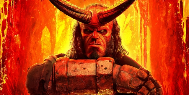 Hellboy-2019-poster-with-David-Harbour-horns