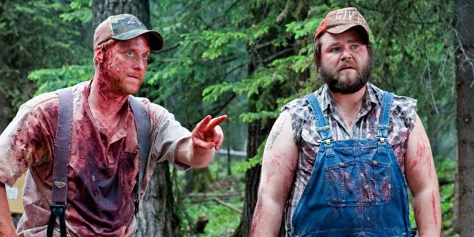 Image result for tucker and dale vs evil