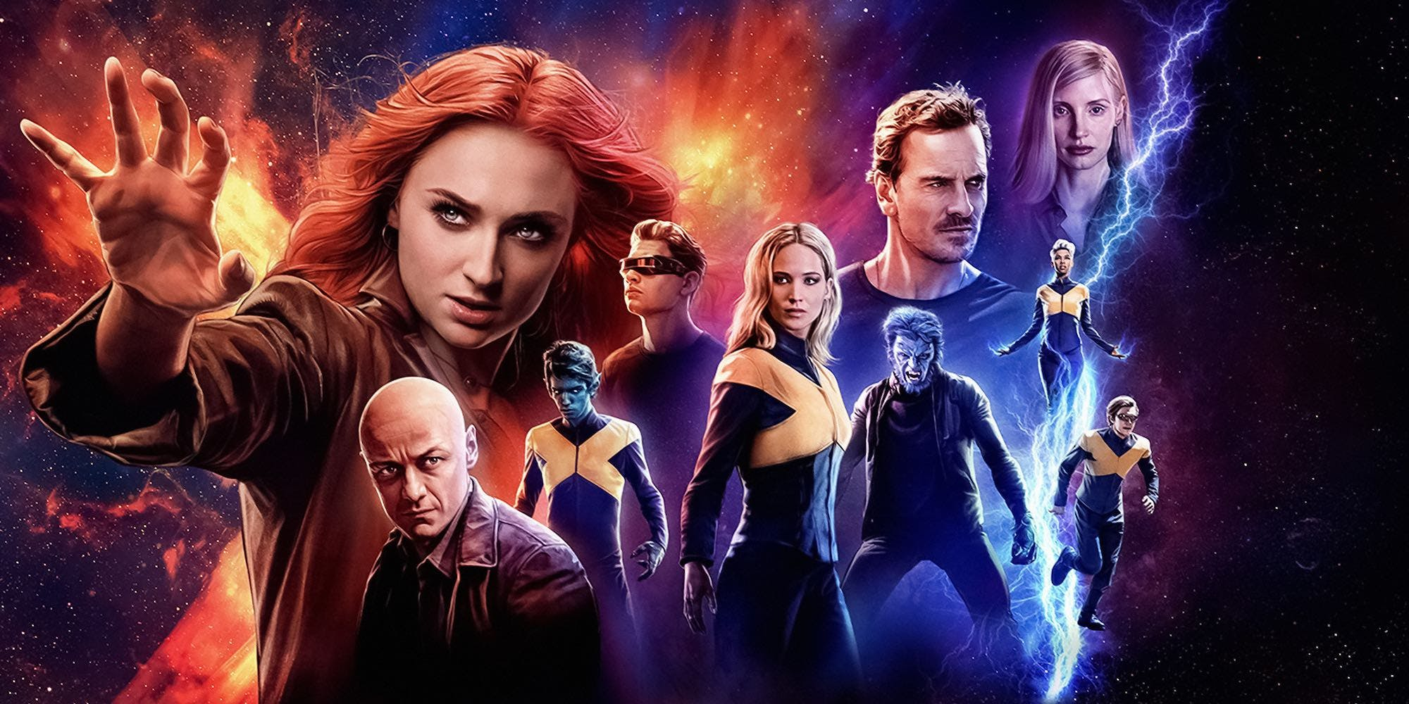 Rubah Tukang Nonton Review X Men Dark Phoenix 2019