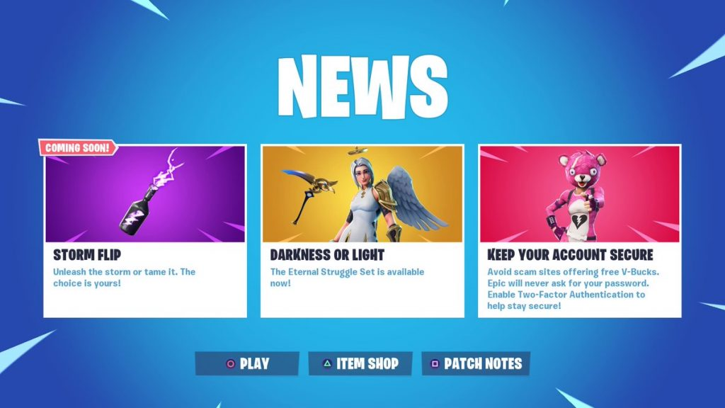 Fortnite 9 20 Patch Notes Reveal Storm Flip And Bring Lots Of Leaked