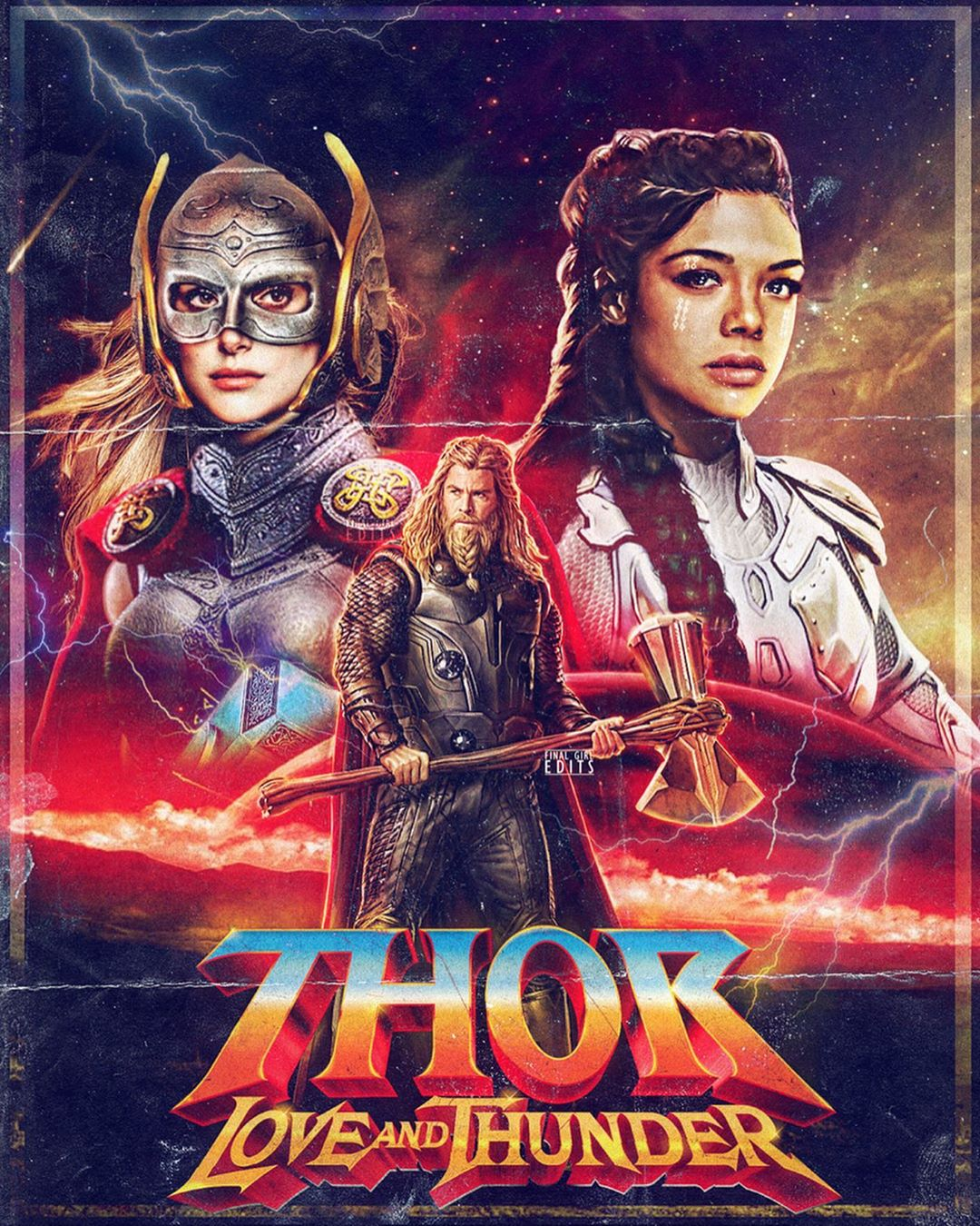 Image result for thor love and thunder