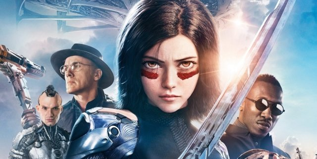 Alita-Battle-Angel-characters-poster