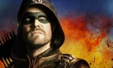 Stephen Amell Shares First Look At Katherine McNamara's Green Arrow Costume