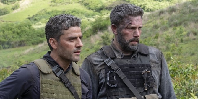 Oscar-Isaac-and-Ben-Affleck-in-Triple-Frontier