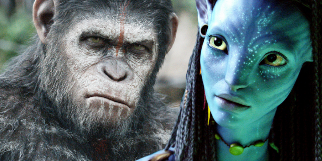 Avatar Planet of the Apes