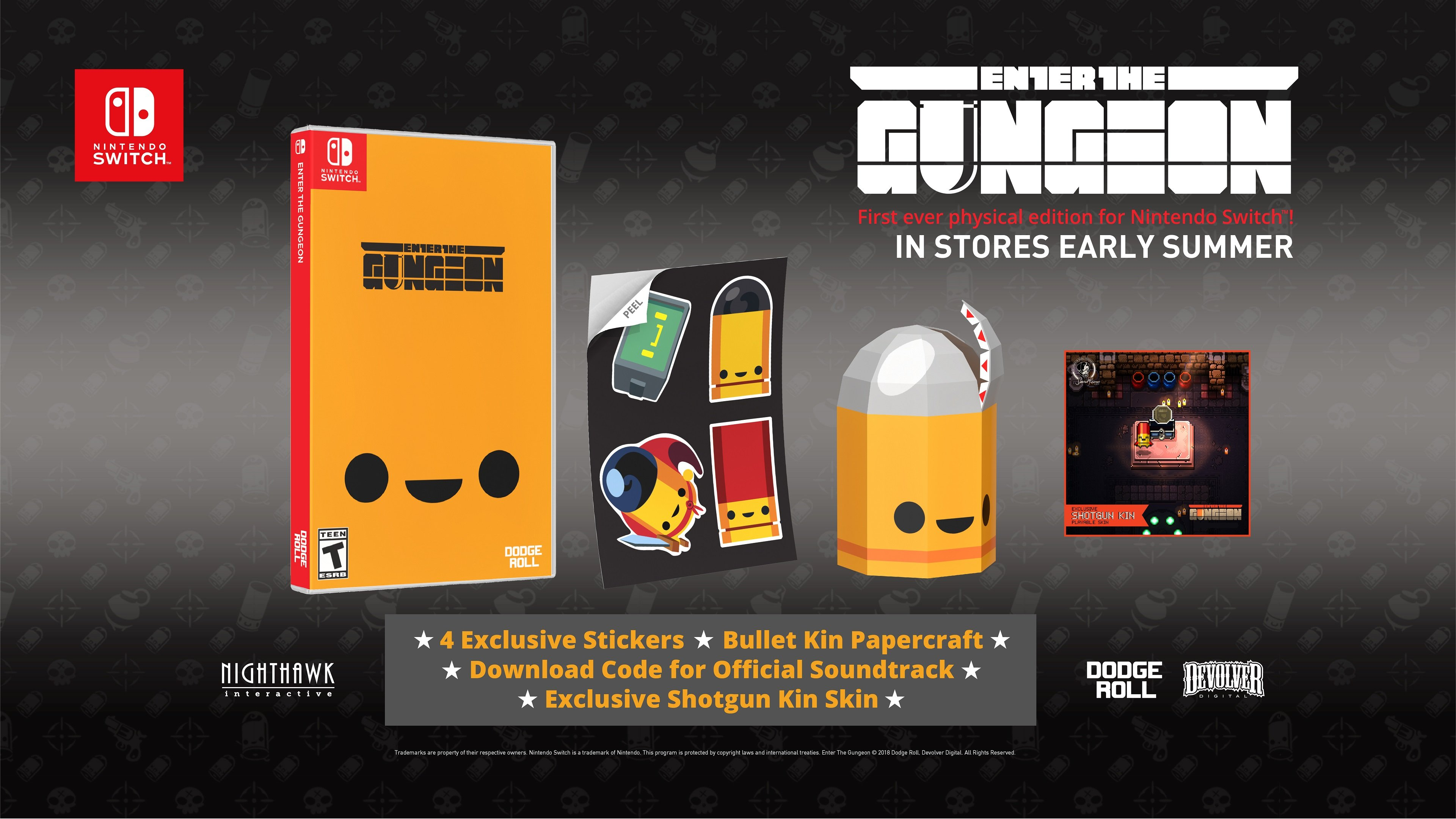 Enter The Gungeon Physical Edition Switch