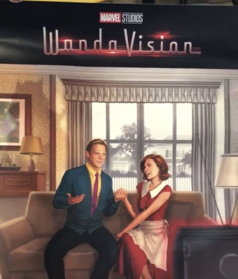 First Poster For WandaVision Teases Scarlet Witch's New Reality