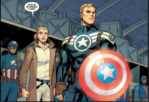 Steve Rogers Is Captain America No More In Marvel Comics