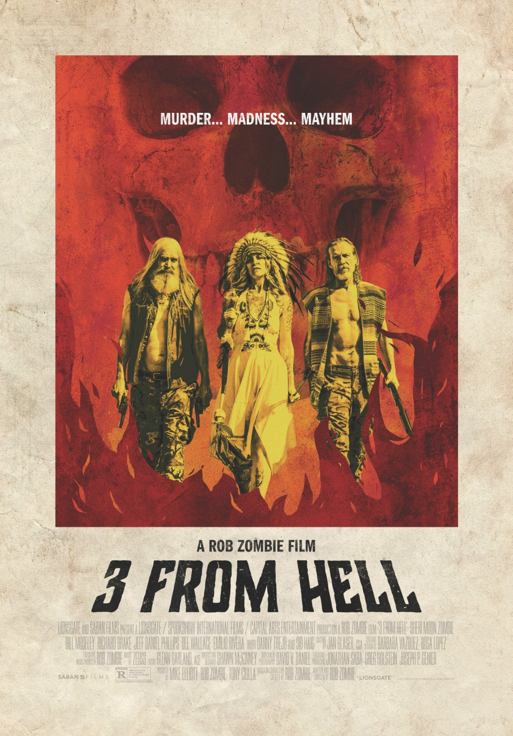 The Devils Rejects Get A New Member On This 3 From Hell Poster