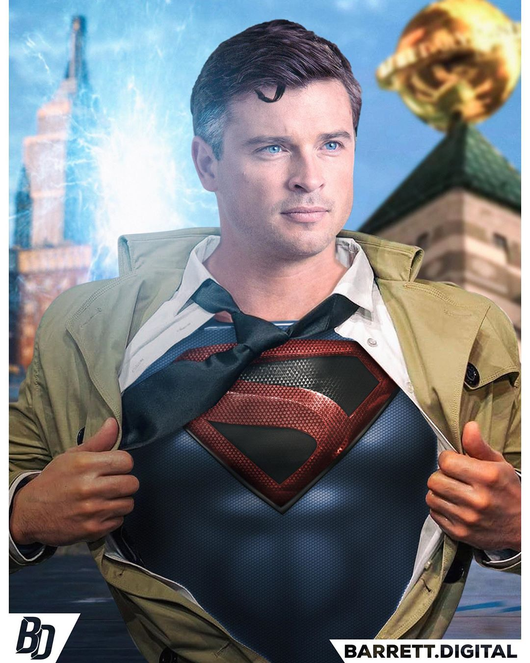 Here's How Tom Welling Could Look As Kingdom Come Superman In Crisis