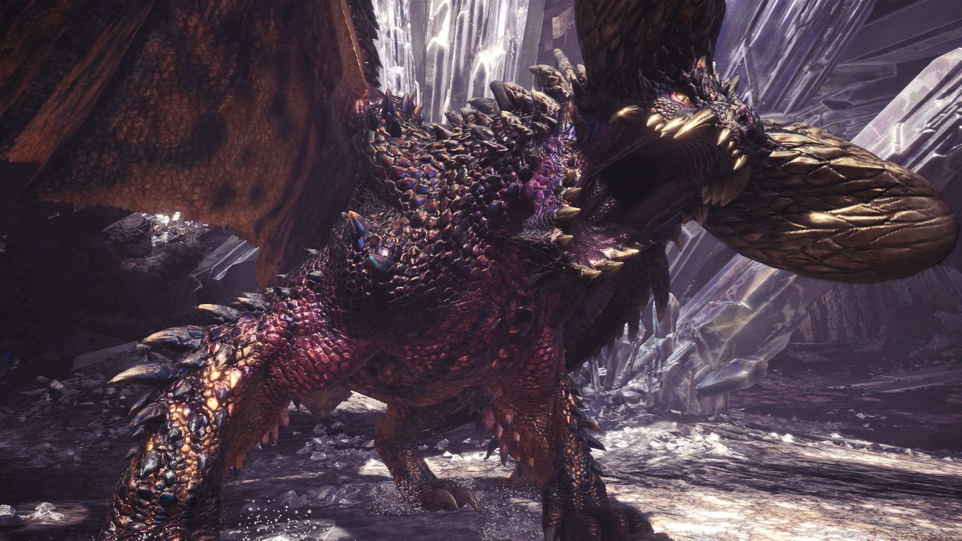 Monster Hunter World Iceborne Arch-Tempered Nergigante