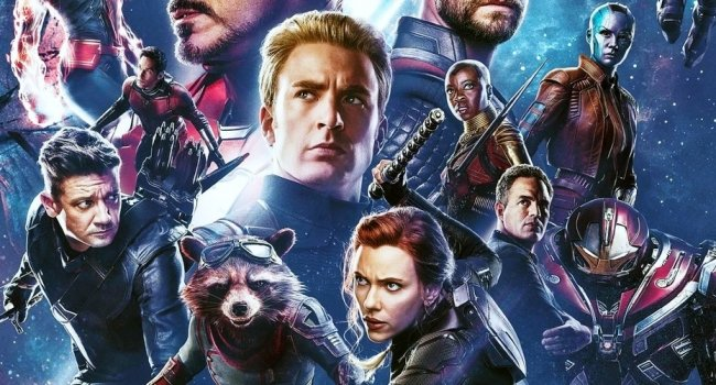 Marvel Debuts Official Artwork For The Infinity Saga Blu-Ray Box Set
