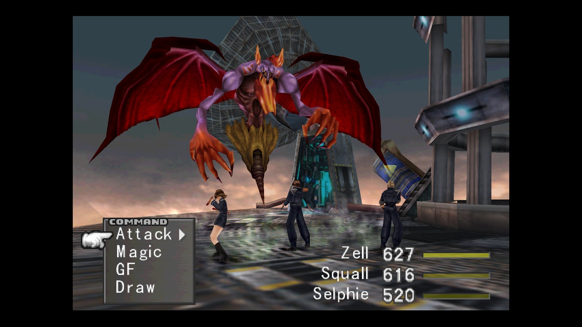 Final Fantasy VIII Remastered Combat