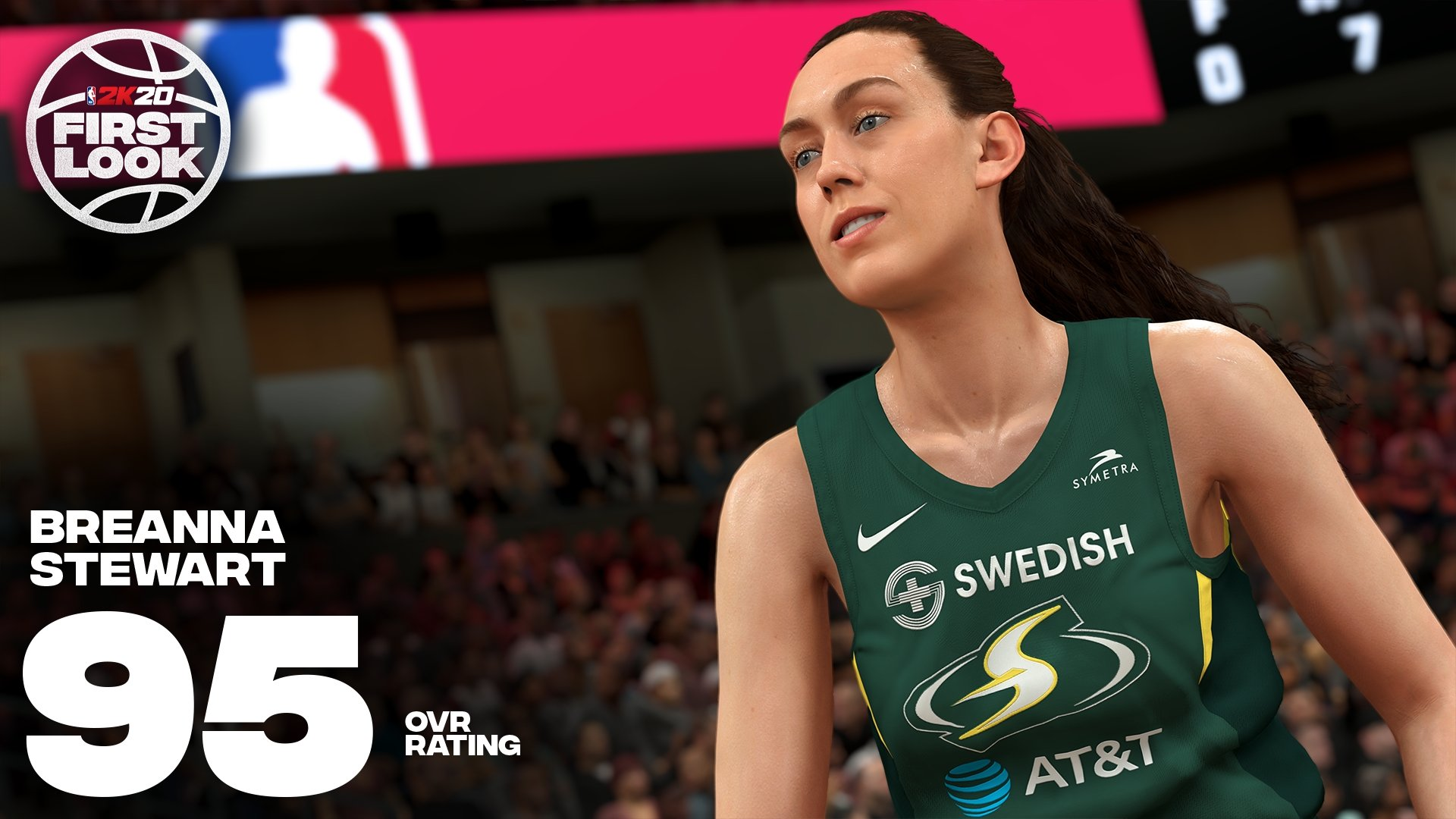 NBA 2K20 Breanna Stewart Rating TWT