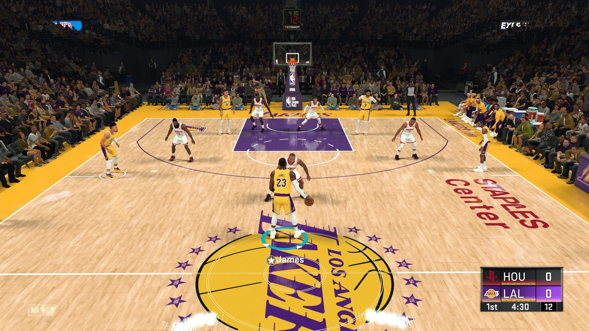 NBA 2K20 Lakers