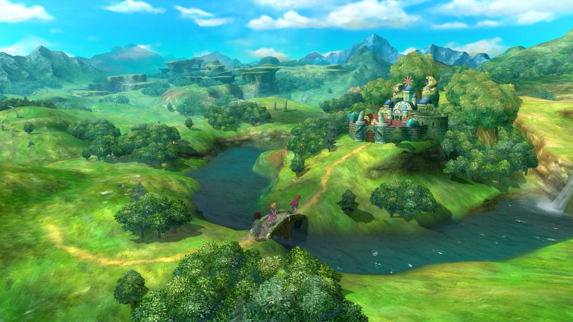 Ni No Kuni Overworld