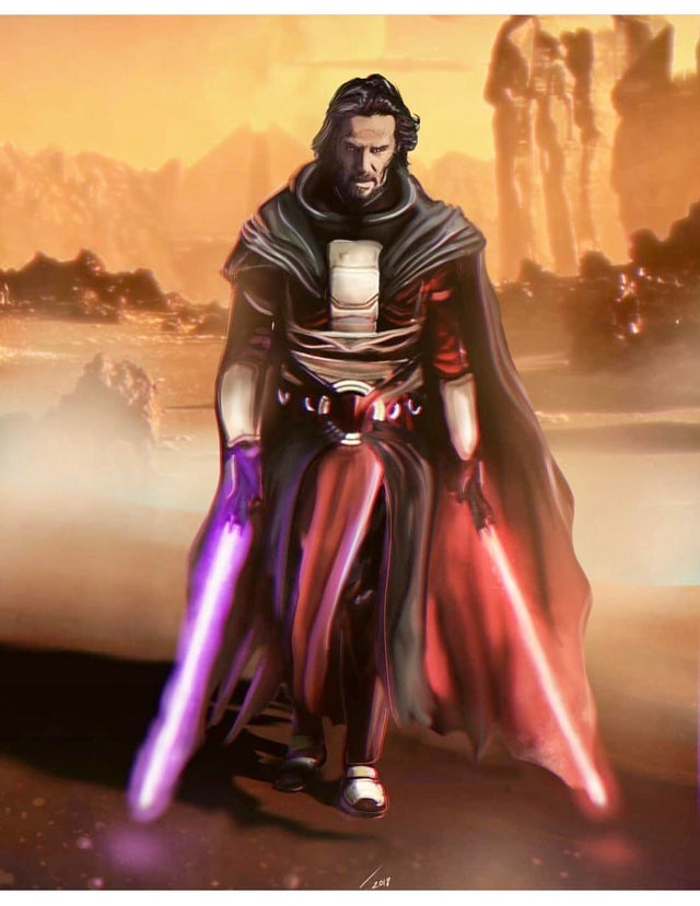 Watch Keanu Reeves Becomes A Jedi In Star Wars The Old Republic Fan Trailer