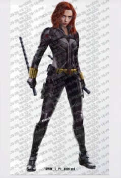 Leaked Black Widow Promo Art Offers New Look At Nat S Suit And Taskmaster