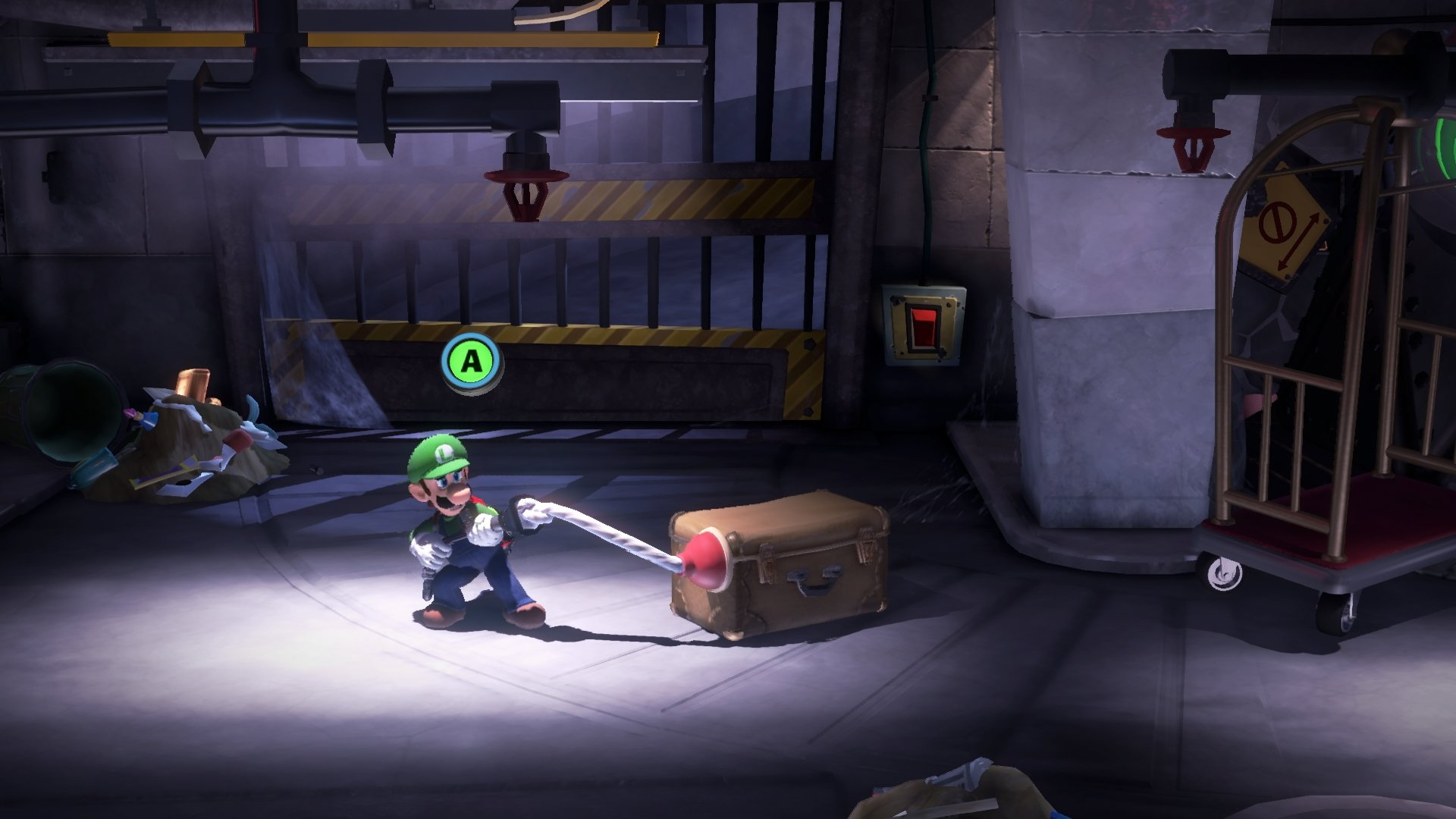 Luigi's Mansion 3 Plunger
