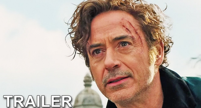 Robert Downey Jr. And Tom Holland Reunite In First Dolittle Trailer