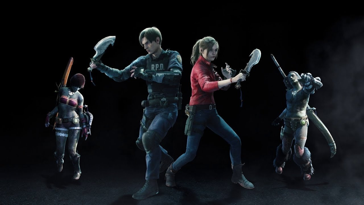 How To Unlock Resident Evil 2 S Leon And Claire Skins In Monster