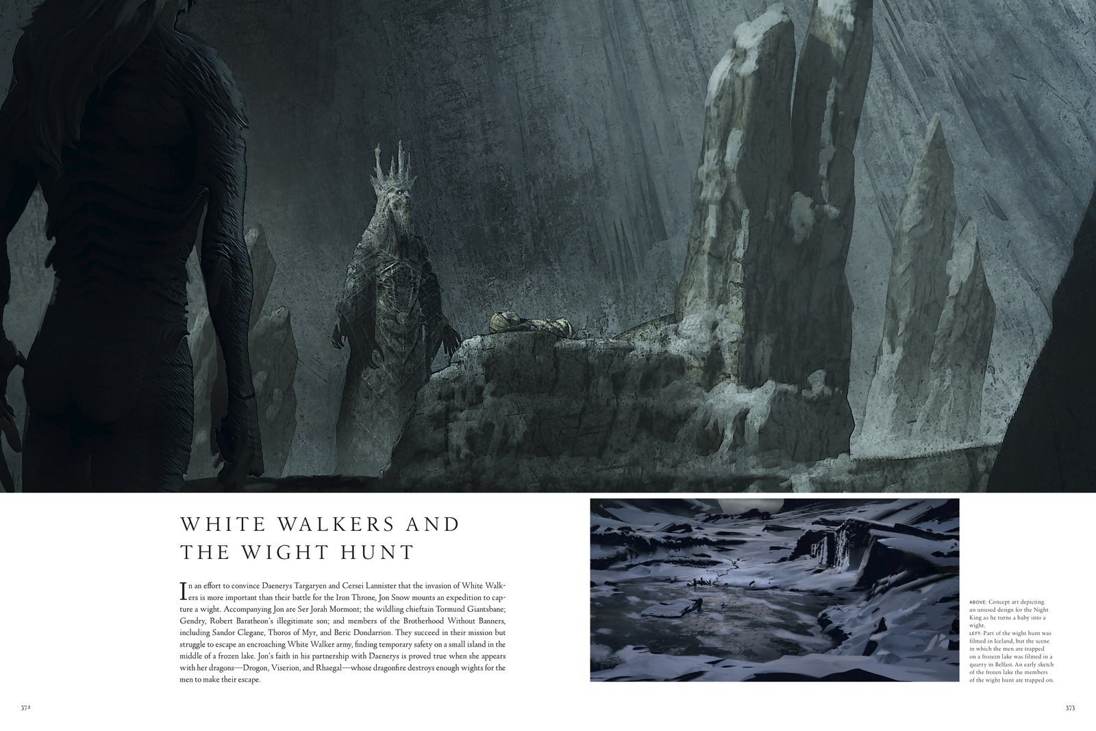 Game Of Thrones Concept Art Reveals Very Different Look For