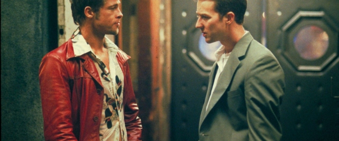 Brad Pitt And Ed Norton Got High Before Fight Club Premiere And Couldn't Stop Laughing