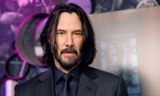 Keanu Reeves Shows Off His New Buzz Cut In The Matrix 4 Set Photos