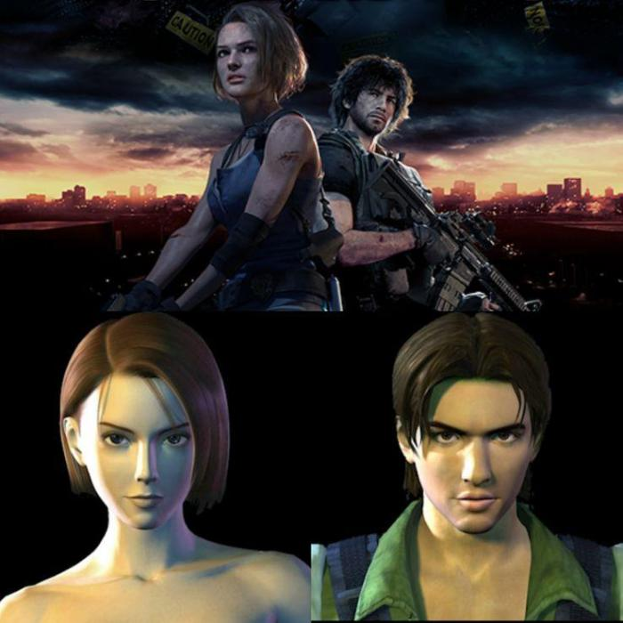 Resident Evil 3 Images Compare Jill S New Design With The Original