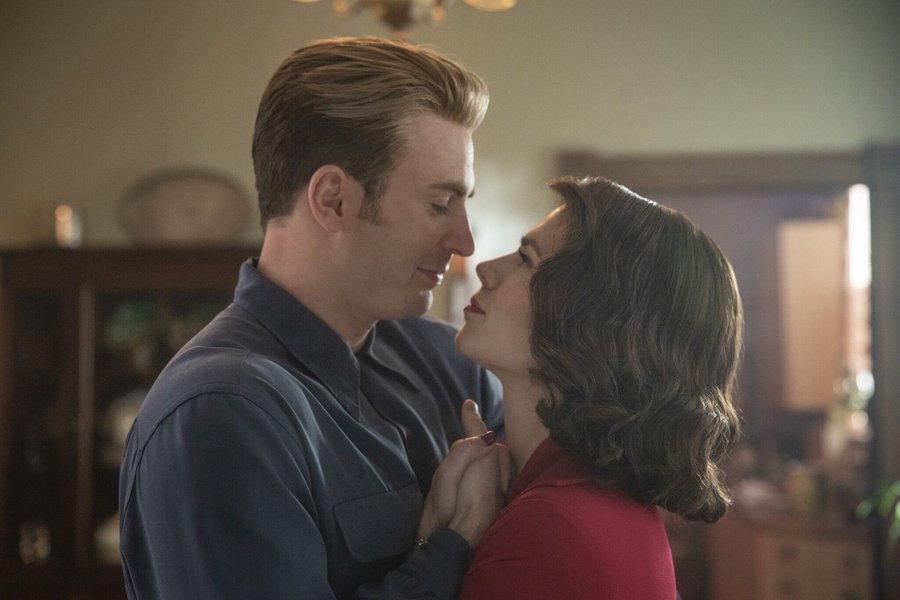 Captain America Meets Old Peggy Scene