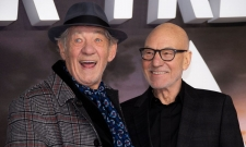 Patrick Stewart And Ian McKellen Reunite At Star Trek: Picard Premiere