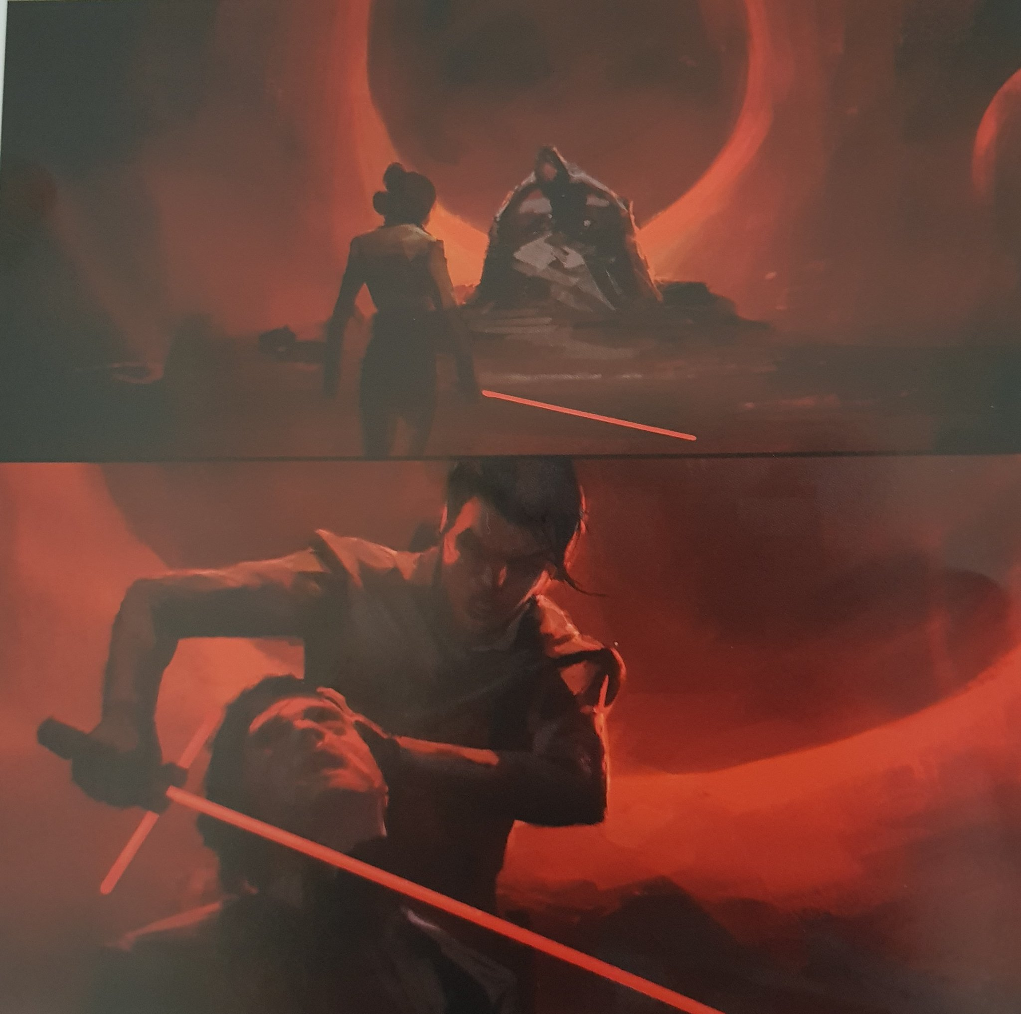 Dark Rey Almost Kills Kylo Ren In Cut Star Wars The Rise Of Skywalker Scene