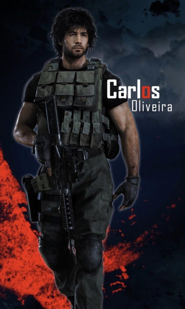 New Art Reveals Carlos Oliveira S Redesign For Resident Evil 3 Remake