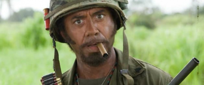 Robert Downey Jr.'s Mom Was Horrified By His Role In Tropic Thunder