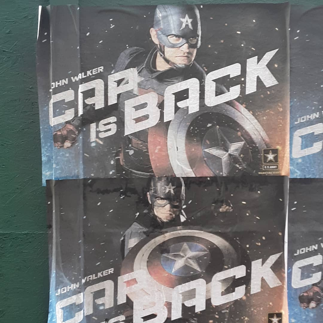 The Falcon And The Winter Soldier Set Pic Reveals The New Captain America
