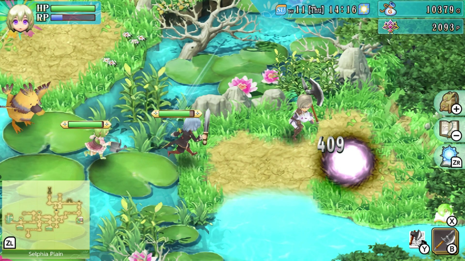 Rune Factory 4 Special Gameplay
