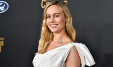 The Internet's Losing It Over Brie Larson's Cinderella-Style Dress On Red Carpet