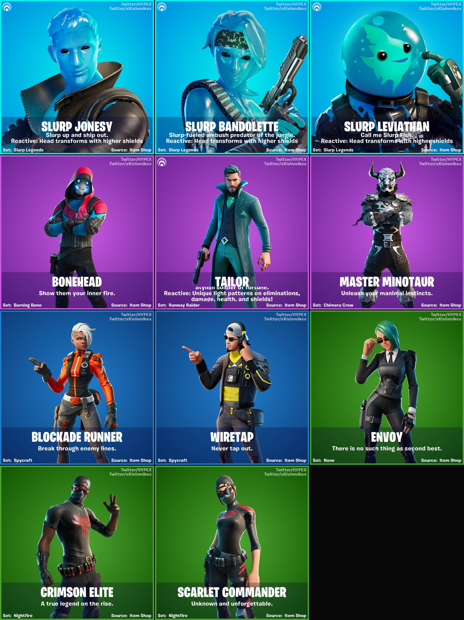 Are Hockey Skins Coming To Fortnite A Ton Of New Fortnite Chapter 2 Season 2 Skins Have Leaked