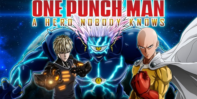 One Punch Man A Hero Nobody Knows Logo