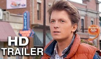Watch: Tom Holland Becomes Marty McFly In Back To The Future Fan Trailer