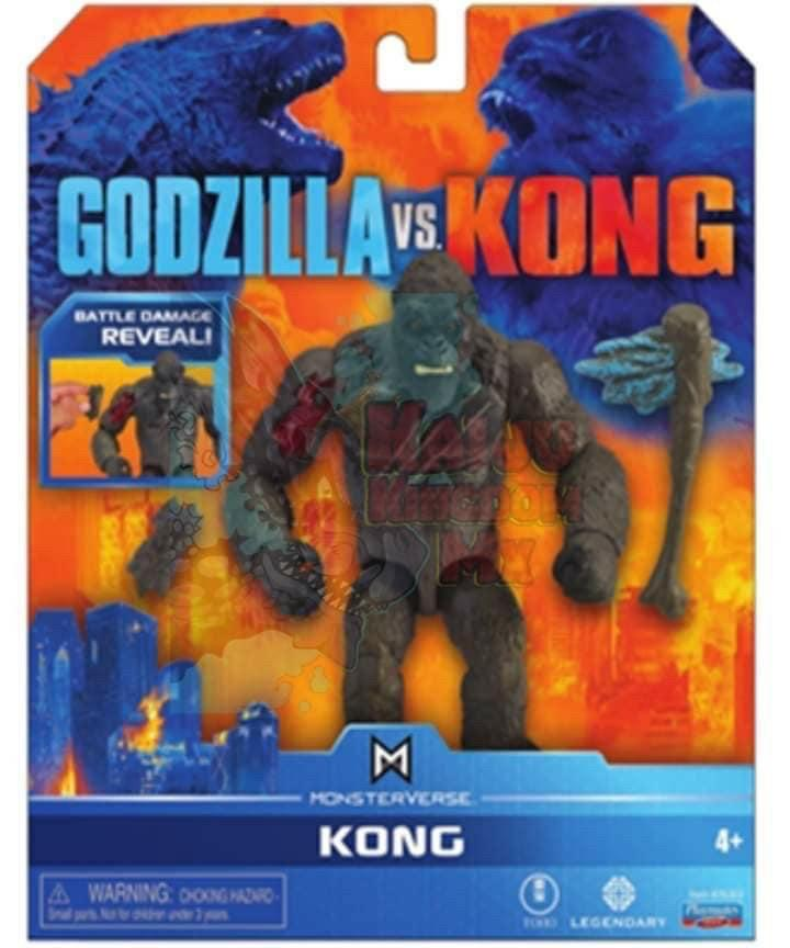 Leaked Godzilla Vs. Kong Toys Reveal New Weapons And Monsters