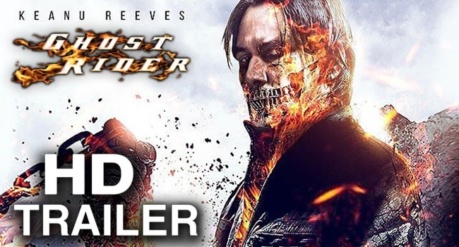 Watch: Keanu Reeves Becomes Ghost Rider In Incredible Fan Trailer