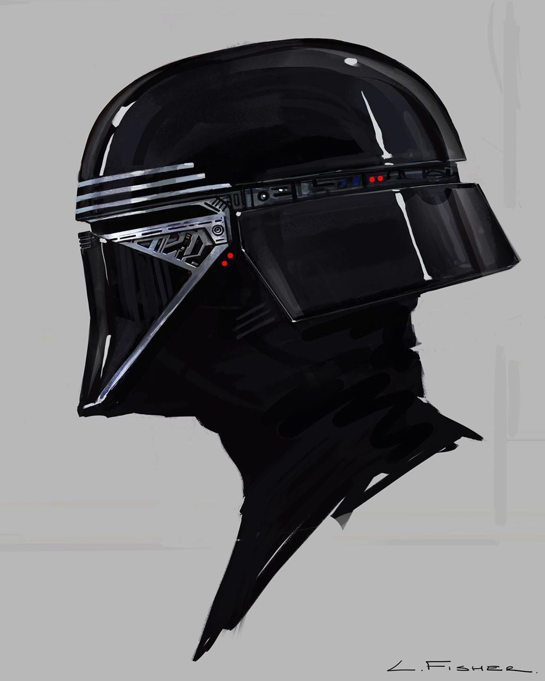 Star Wars The Rise Of Skywalker Concept Art Reveals A New Mask For Kylo