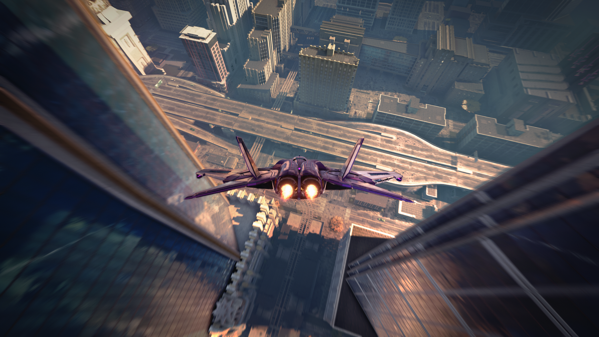 Saints Row The Third Remastered Flying