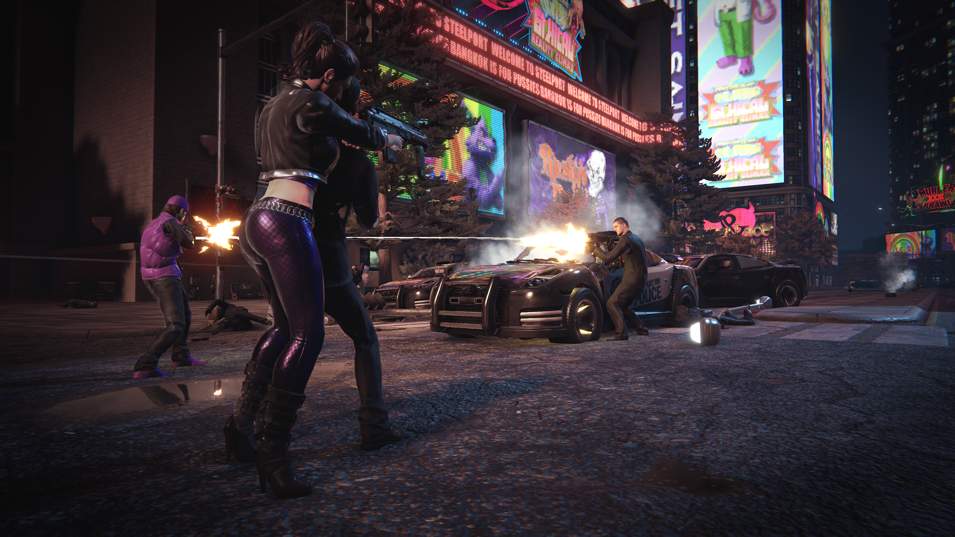 Saints Row The Third Remastered Street Fight