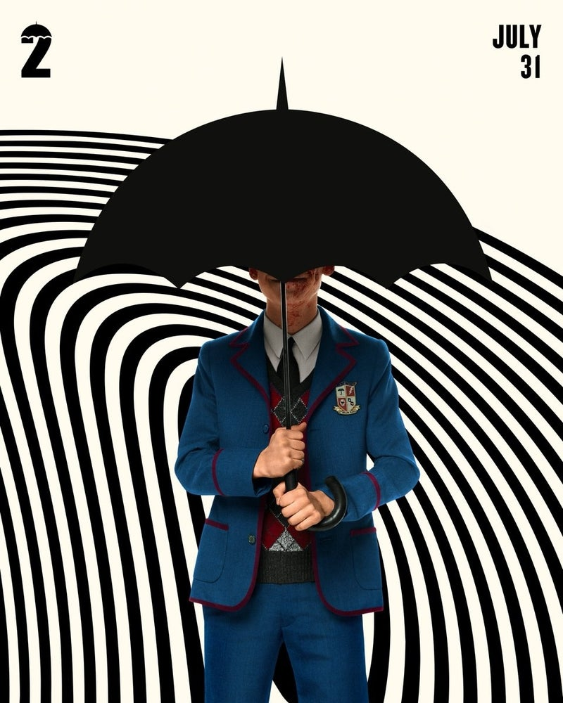 Netflix Release Awesome New Posters For The Umbrella Academy Season 2